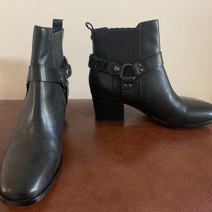 NEW Sam Edelman Dalma Black Leather 8.5 M